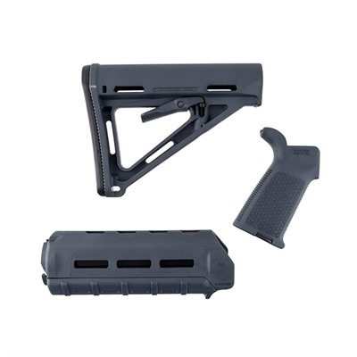 Magpul Ar-15 Moe Furniture Set M-Lok Polymer - Moe Furniture Set M-Lok Carbine Gray