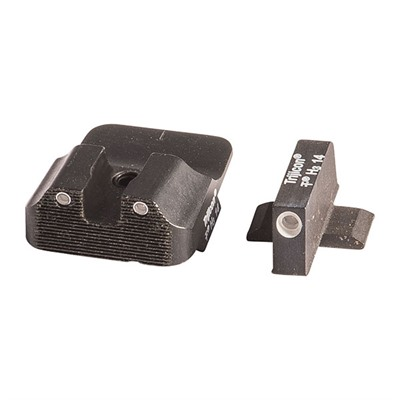 Warren Tactical Series Tritium Sight Sets For Springfield Xd Xdm 3 Lamp Set 2 Lamp Rear 1 Lamp Front