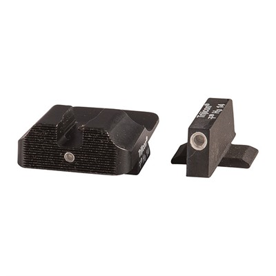 Warren Tactical Series Tritium Sight Sets For Springfield Xd/Xdm - 2 Lamp Set, 1 Lamp Rear, 1 Lamp Front