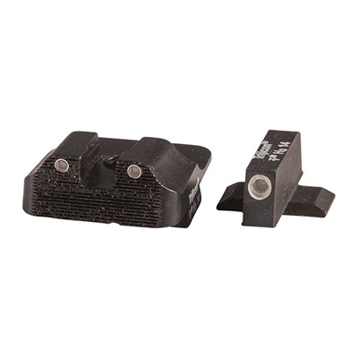 Tritium Sight Sets For Springfield Xds - 3 Lamp Set, 2 Lamp Rear, 1 Lamp Front