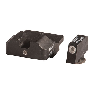 Warren Tactical Series Tritium Sight Sets For Glock 42/43 - 2 Lamp Sight Set, 1 Lamp Front, 1 Lamp Rear