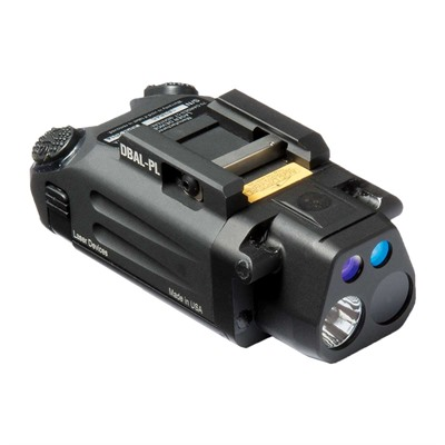 Dbal-Pl Pistol Light/Laser - Dbal-Pistol Light/Green Laser Black