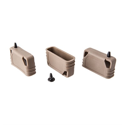 Oakland Tactical Ar-15 Guerrilla Grip With Bullet Button Tool - Ar-15 Guerrilla Grip 3 Pack Fde