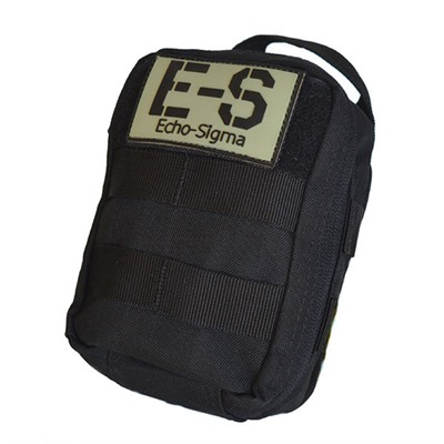 Echosigma Emergency Systems Compact Trauma Kit - Compact Trauma Kit-Black