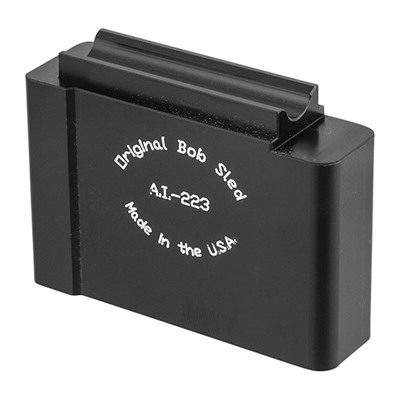 Short Action Aics Bob Sled 1rd Magazines - Short Action Aics Bob Sled 223/5.56 1rd Aluminum Black