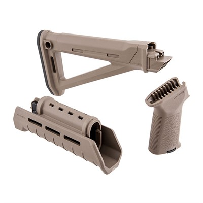 Magpul Ak-47 Moe Stock Set M-Lok Polymer - Moe Stock Set M-Lok Flat Dark Earth