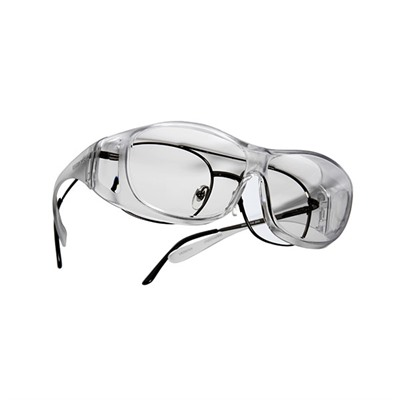 Live Eyewear Inc Overx Medium Shooting Glasses - Clear Overx Shooting Glasses Clear