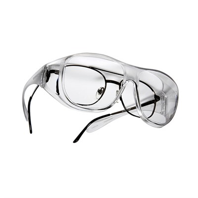 Live Eyewear Inc Overx Large Shooting Glasses - Clear Overx Shooting Glasses Clear
