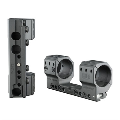 Spuhr Accuracy International Isms Direct Mounts - 34mm Isms Direct Mount 121mm Mounting Length 20.6 Moa