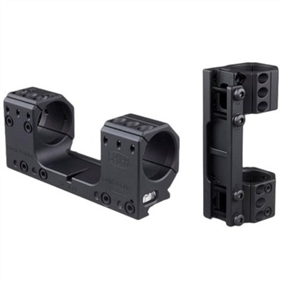 Picatinny Mounts - 30mm Isms Mount 126mm Mounting Length 0 Moa