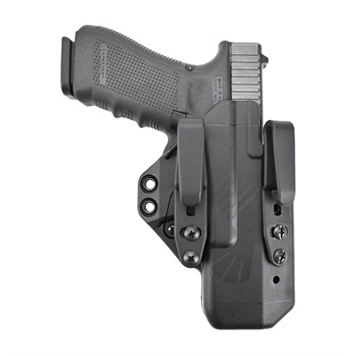 Eidolon Holsters Full Kit For Glock™ - Eidolon-Glock 17-Black-Right Hand-1.5 Overhook Struts