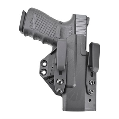 Eidolon Holsters Full Kit For Glock™ - Eidolon-Glock 19/26-Black-Right Hand-1.5 Overhook Strut