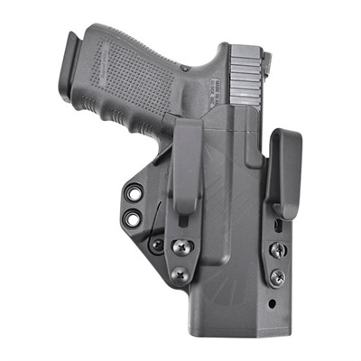 Raven Concealment Systems Eidolon Holster Full Kit For Glock Compact Handguns Soft Loops - Eidolon-Glock 19/26-Black-Right Hand-Soft Loop Struts