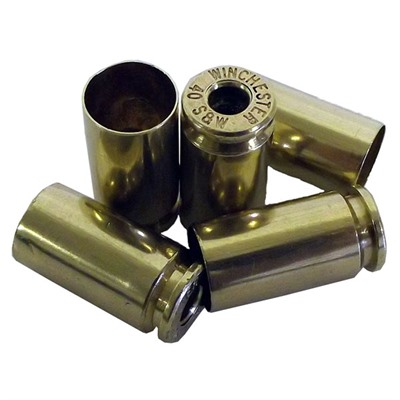 Once-Fired .40 S&W Brass - Reconditioned .40 S&W Brass 250/Bag