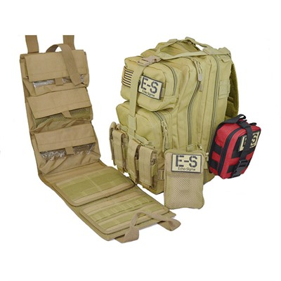 Echosigma Emergency Systems Echo-Sigma Ranger Range Bag - Echo-Sigma Ranger Range Bag-Coyote