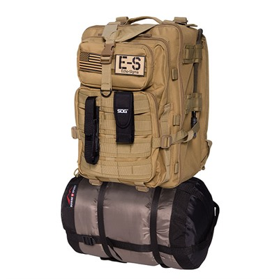 Echosigma Emergency Systems Bug Out Bag - Echo-Sigma Bug Out Bag-Coyote