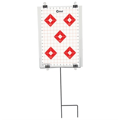 Caldwell Shooting Supplies Ultra Portable Target Stand - Ultra Portable Target Stand With Targets