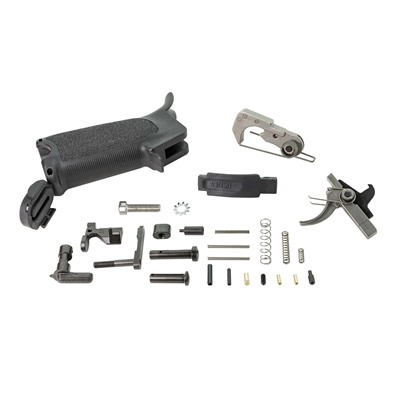 Bravo Company Ar-15 Bcmgunfighter Enhanced Lower Parts Kits - Bcmgunfighter Ar-15 Enhanced Lower Parts Kit, Blk