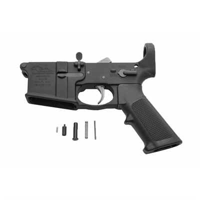 Ar-15 Lower Receiver W/Installed Lower Parts Kit - Ar-15 Lower Receiver With Installed Lower Parts K