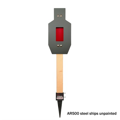 Ipsc Rifle Rated Flapper Target - Ipsc Rifle Rated Flapper Target-Ground Stake