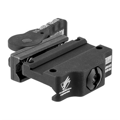 American Defense Manufacturing Trijicon Mro Low Mounts - Mro Low Mount, Standard Lever, Black
