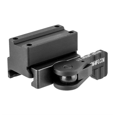American Defense Manufacturing Trijicon Mro Tru Co-Witness Mounts - Mro True Co-Witness, Tactical Lever, Black