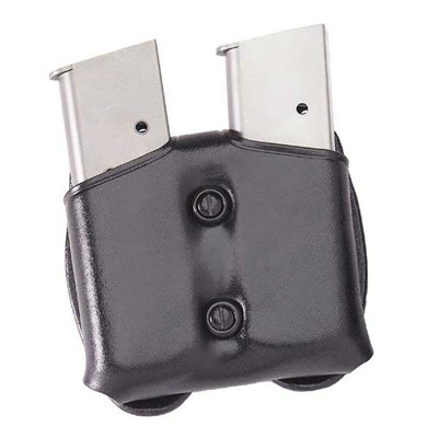 Cop Dual Magazine Carrier - Cop Dual Magazine Carrier 9mm/.40 Staggered Mag-Black