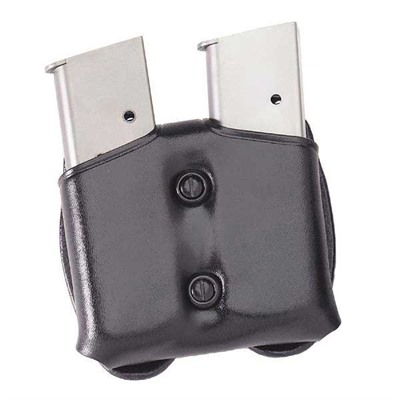 Cop Dual Magazine Carrier - Cop Dual Magazine Carrier .45 Single Stack Metal Mag-Black