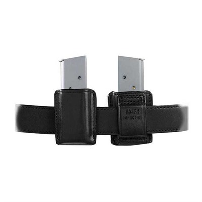 Concealable Mag Carrier - Concealable Mag Carrier .40 Staggered Polymer Mag-Black