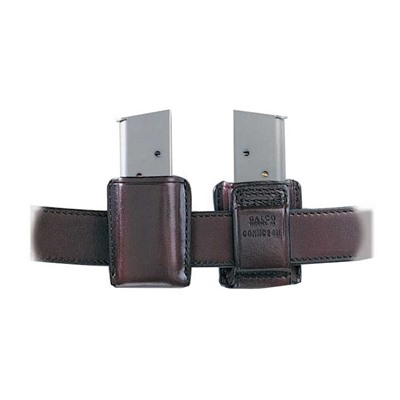 Concealable Mag Carrier - Concealable Mag Carrier .40 Staggered Polymer Mag-Havana