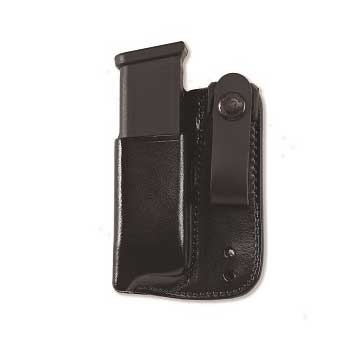 Inside Waistband Magazine Carrier - Inside Waistband Mag Carrier .40 Staggered Metal Mag-Black