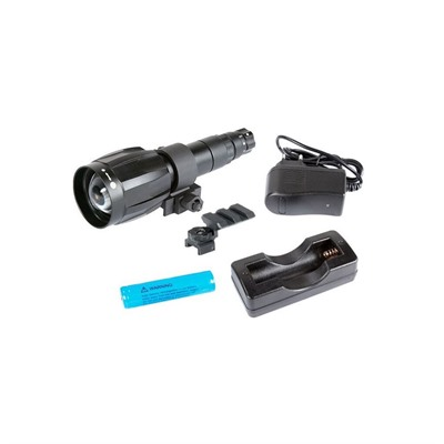 Xlr-Ir850 Detachable Infrared Illuminator - Xlr-Ir850 W/Dovetail To Weaver Adapter