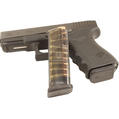 Elite Tactical Systems Group Translucent Magazine For Glock 19 - Translucent Magazine 15rd For Glock 19