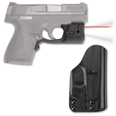 Crimson Trace Corporation S&W Shield 9/40 Laserguard Pro With Blade-Tech Iwb Holster
