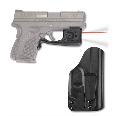 Crimson Trace Corporation Springfield Xd S Laserguard Pro With Blade Tech Iwb Holster Springfield Xd S Red Laserguard Pro Iwb Holster