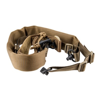 Viking Tactics V-Tac Padded Sling With Cuff Assembly - V-Tac Padded Sling W/Cuff Assembly-Coyote