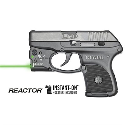 Reactor 5 Green Weapon Lasers - Ruger® Lcp® Reactor 5 Green Laser With Pocket Holster