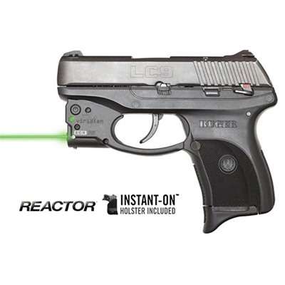 Reactor 5 Green Weapon Lasers - Ruger® Lc9/380® Reactor 5 Green Laser With Pocket Holster
