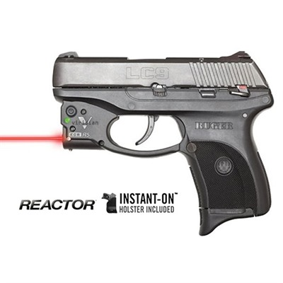 Reactor R5-R Red Lasers - Ruger® Lc9/380® Reactor 5 Red Laser With Pocket Holster