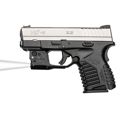 Reactor Tl Tactical Lights - Springfield Xd-S Reactor Tl Taclight With Hybrid Holster