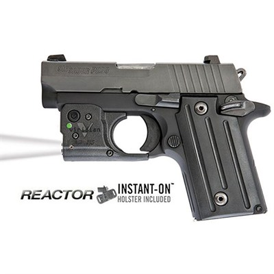 Reactor Tl Tactical Lights - Sig P238/P938 Reactor Tl Taclight With Hybrid Holster
