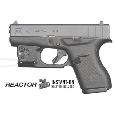 Reactor Tl Tactical Lights - Glock® 43 Reactor Tl Taclight With Hybrid Holster
