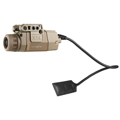 Viridian X5l-Rs Universal Green Laser/Tactical Light