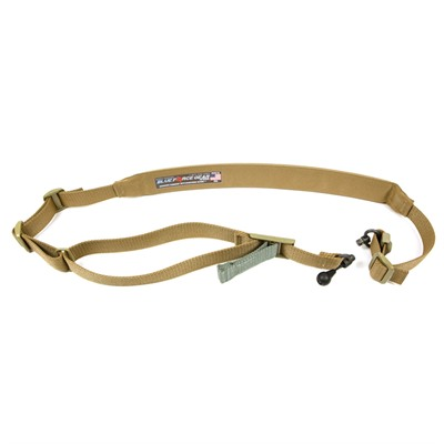 Vickers 2-To-1 Red Swivel Sling - Vickers Padded 2-To-1 Red Swivel Sling-Coyote