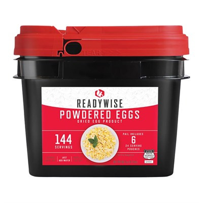 Wise Foods 144 Servings Of Wise Powdered Eggs 144 Serving Bucket Of Powdered Eggs