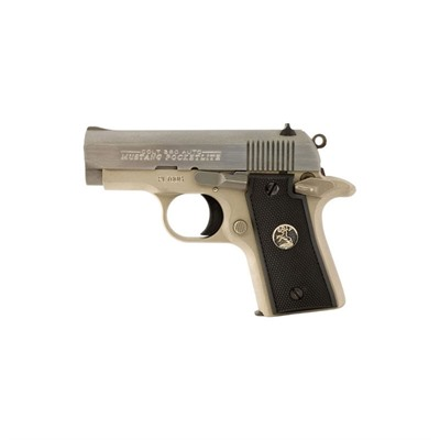 Colt Mustang 2.75in 380 Auto Stainless 6+1rd