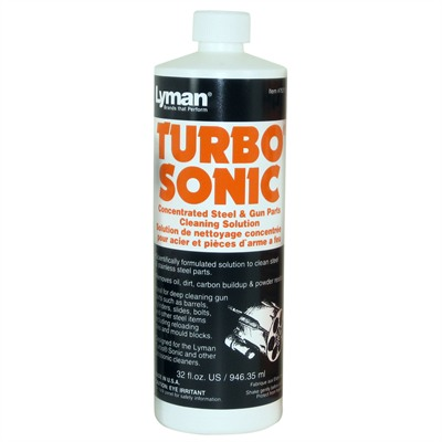 Turbo Sonic Cleaning Solutions And Accessories - Lyman Turbo Sonic Steel Solution, 32 Oz.