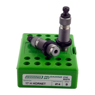 Redding Full Length Die Sets - Full Length Die Set 17 H Hornet