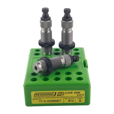 Redding Deluxe 3-Die Sets - Deluxe 3-Die Set 17 Hornet