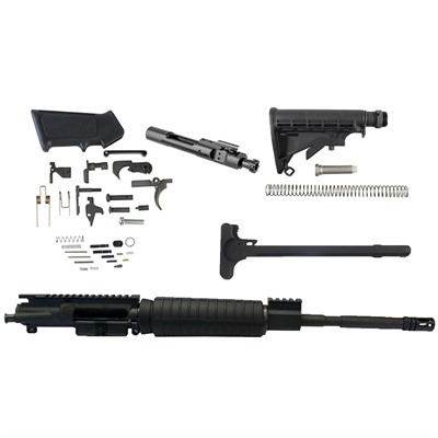 Buy Brownells Ar-15 Complete Upper W/ Lpk & Stock 5.56 Black
